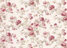 Cassis Floral Linen Cotton Fabric More Linen Cotton Fabric Fabric