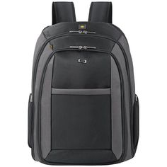 Shop a great selection of SOLO Metropolitan 16 Laptop Backpack Removable Sleeve, Black/Grey. Find new offer and Similar products for SOLO Metropolitan 16 Laptop Backpack Removable Sleeve, Black/Grey. Backpack Straps, Laptop Backpack, Black Backpack, Sling Backpack, Backpack Umbrella, Georgia Boots, Travel Luggage, Travel Bags, Sleeve Designs