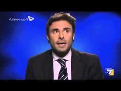 """Alessandro Di Battista M5S   Servizio Pubblico """"L'immoralità è come il..."""