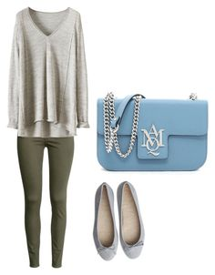 """""""Untitled #143"""" by maryemmanuel on Polyvore featuring H&M and Alexander McQueen"""