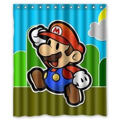 Fashionable Bathroom CollectionCustom super mario bros Shower Curtain Bath Decor Curtain 60  x 72  >>> You can get more details by clicking on the image.