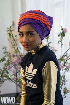 Yuna shooting her Adiddas White Space Ad in the New York Adiddas Store