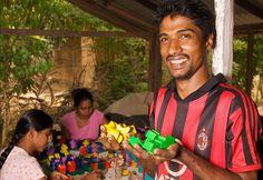 Visiting fair trade producers in Sri Lanka
