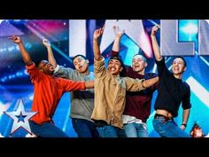 ▶ Golden buzzer act Boyband are back-flipping AMAZING!   Audition Week 2   Britain's Got Talent 2015 - YouTube