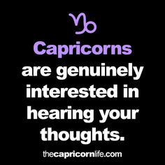 capricorn personality traits | Tumblr