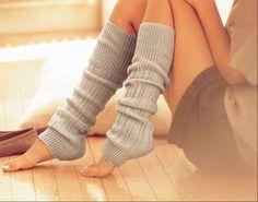 leg warmers :)