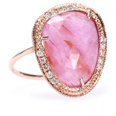 Jacquie Aiche ring  14KT rosé gold with diamonds