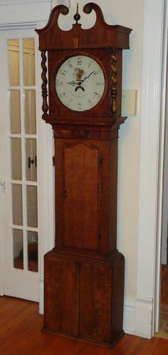 love grandfather clocks!