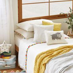 funda nórdica pompones de colores Zara Home