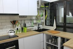 4 Room BTO - Kitchen - The place where foods are made.