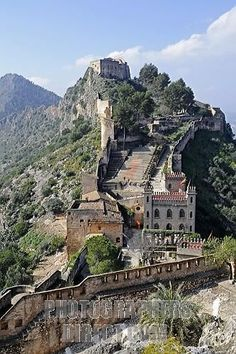 Xativa Castle, Valencia Spain - saw it in March 2012 . . . would do it again!! Great trip for Michelle & Julie