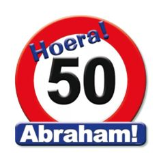Iemand 50 geworden? Feestwinkel Altijd Feest heeft leuke Abraham en Sarah feestartikelen. Alles tegen scherpe prijzen natuurlijk!