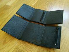 Кошелек мужской кожаный маленький – купить в интернет-магазине на Ярмарке Мастеров с доставкой