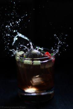 pomegranate days: Pimm's Cocktail