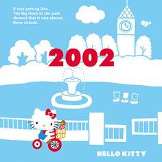 Hello kitty through the years 2002