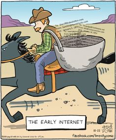 The Early Internet...