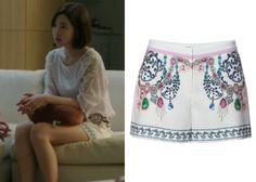 Thyren Summer Print Shorts