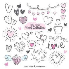 Ideas art journal doodles fonts for 2019 Bullet Journal Art, Bullet Journal Ideas Pages, Bullet Journal Inspiration, Lettering Tutorial, Heart Doodle, Doodle Lettering, Doodle Art Letters, Doodle Alphabet, Doodle Art Journals