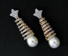 Mariam Sikander Earring Designs 2014 For Women 005