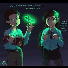 Reverse Pines art. I love this concept and all the art is fantastically creepy