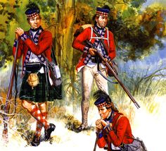 42nd Royal Highland Regiment in America