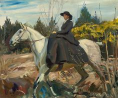 The Morning Ride by Alfred James Munnings | Art Posters & Prints