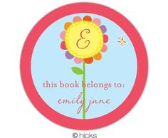 A sweet book label