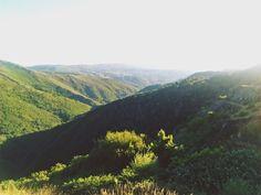 Vista sobre a serra da Freita, Portugal