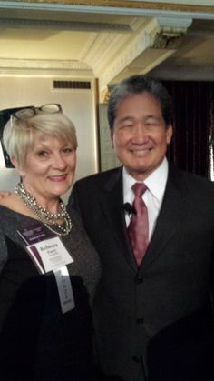 Earl Lee and myself at our conversion/awards celebration on April 17th at the Omni in Pittsburgh.