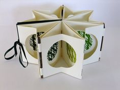 Turn I Handmade Artists book Natures Cycles by CharlesSaul on Etsy, £80.00