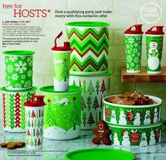 Christmas Tupperware  Host Special available NOW! Like it a Little... Place an Order; Like it a lot...Book a Party; Like it ALL?...Become a consultant   my2.tupperware.com/beckyvieltorf