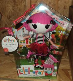 new for 2012 Lalaloopsy Doll Charlotte Charades 035051512394 mime IN HAND
