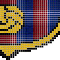 Hama Beads Barcelona, Bar�a o FC Barcelona Parte 1