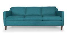 Cherie Ocean Teal Sofa - Sofas & Ottomans - Bryght | Modern, Mid-Century and Scandinavian Furniture