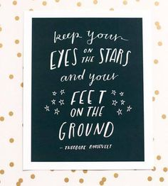 Apartminty Fresh Picks: If These Walls Could Talk | Eyes On The Stars Print