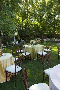 Garden Wedding - Scenemakers