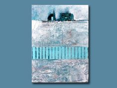 """""""The Opening"""" Abstract Painting 9x12  Original by Vinita on Etsy, $75.00"""