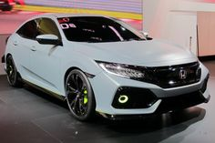 The 2017 Civic Hatchback is finally unveiled!!! check out more pictures below!