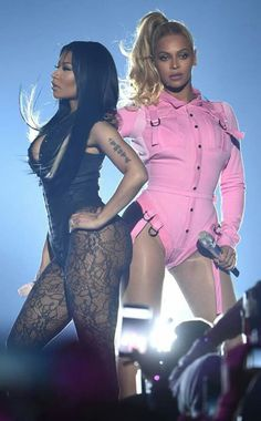 Beyoncé and Nicki Minaj
