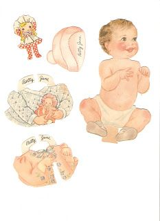 Miss Missy Paper Dolls: Our New Baby