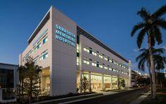 100 Rehabilitation Centers in World Hospital Architecture, Architecture Building Design, Facade Design, Exterior Design, Modern Architecture, Hospital Floor Plan, Hospital Plans, Building Elevation, House Elevation