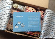 BarkBox Review & Coupon - October 2013