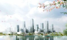 Gallery of Master Plan Revealed for Binhai Eco City in Tianjin - 7