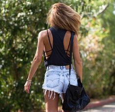 High waisted shorts denim shorts vintage distressed high waisted jeans cute outfits cute shorts lovely pepa summer shorts summer outfits black tumblr outfit tumblr blouse