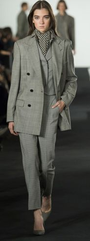 What Do Blake Lively and Melania Trump Have in Common? Ralph Lauren's Plaid Power Suit Plaid Suit, First Lady Melania Trump, Glen Plaid, Ralph Lauren Collection, Blake Lively, Catwalk, Celebrity Style, Actresses, Suits