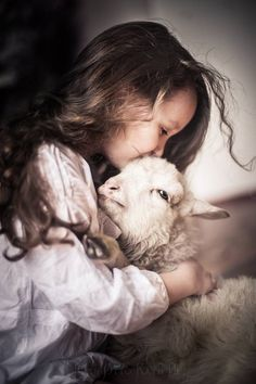 ~precious child and lamb