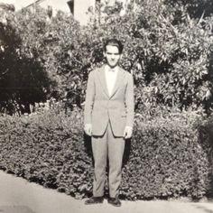 Federico Garcia Lorca at the Residencia Estudiantes, Madrid, Spain.