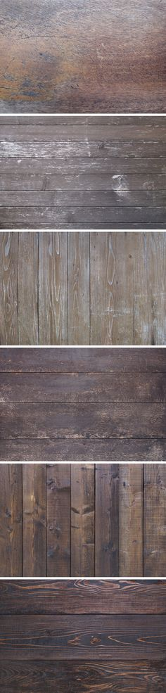 6 Vintage Wood Textures | GraphicBurger