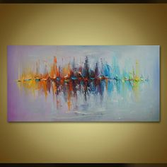 Kunst schilderij kleurrijke grote abstracte schilderkunst, Canvas Art, originele, kleurrijke zeilboten van olieverfschilderij schilderen, wand Decor, grote Wall Art Beoordelingen: https://www.etsy.com/shop/StanislavLazarovArt?ref=l2-shopheader-name#reviews Tittel: Zeekaarten 7 ------------------------------------------------------------- Als u wilt bekijken bezoekt meer van mijn unieke kunstwerken: https://www.etsy.com/shop/StanislavLazarovArt...