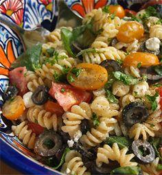Greek Pasta Salad with Ken's Lite Sweet Vidalia Onion - Recipe